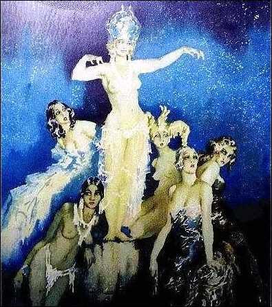 Norman Lindsay Paintings In Oil
