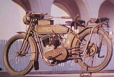 Harley Davidson V Twin 1913 - image by Philip Tooth