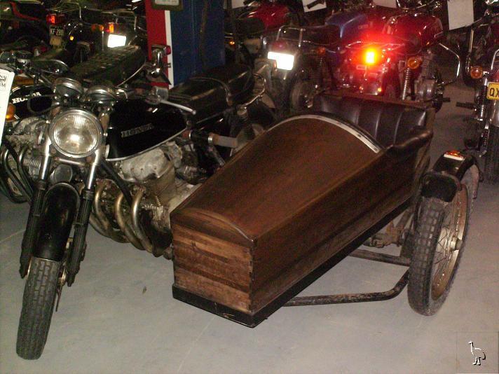 National Motorcycle Museum >> Honda 1977 CB750F1 Sidecar