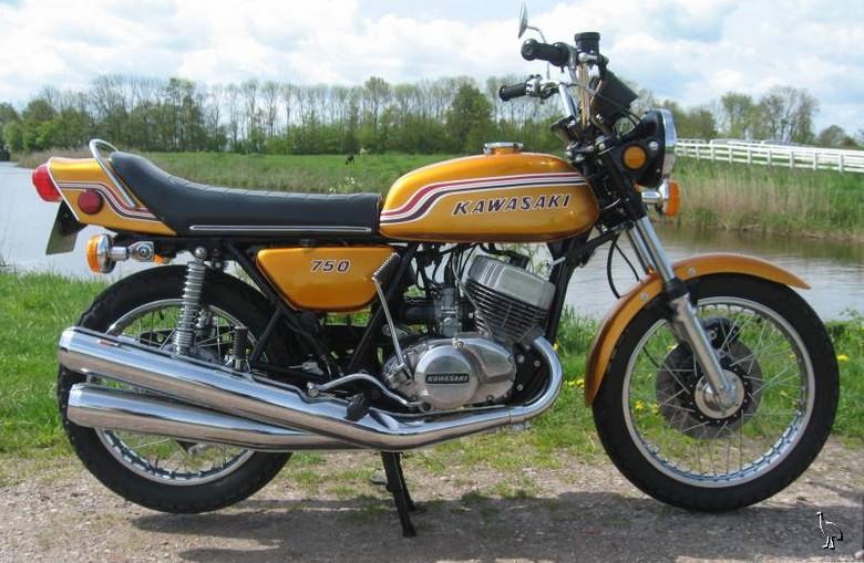 Kawasaki H2 750 1972
