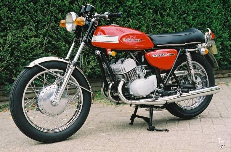 Kawasaki Mach Iii H1 500cc