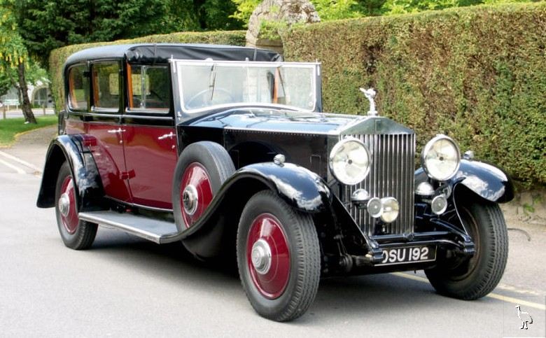 1932 rolls royce phantom ii limousine de ville. Black Bedroom Furniture Sets. Home Design Ideas