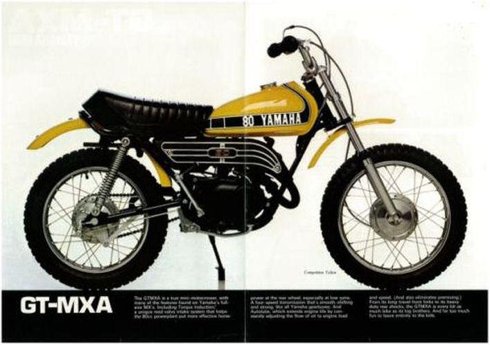 Yamaha mx 80 car interior design for Yamaha mx 80 for sale