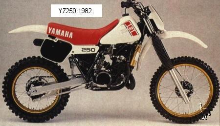 Yamaha Yz J