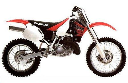Honda CR500R 1999 specifications