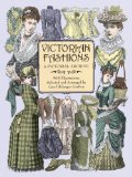 Victorian Fashions: A Pictorial Archive, 965 Illustrations (Dover Pictorial Archive Series)