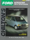 Chilton's Ford Aerostar 1986-97 Repair Manual