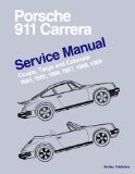 Porsche 911 Carrera Service Manual 1984-1989 - Coupe, Targa, and Cabriolet