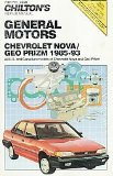 Chilton s Chevrolet Nova Geo Prism 1985-93 Repair Manual (Chilton Model Specific Automotive Repair Manuals)