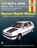 VW GOLF and JETTA 1993-1998 (Haynes Manuals)