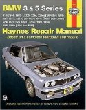 BMW 3 and 5 Series 1982-1992 (Haynes Manuals)