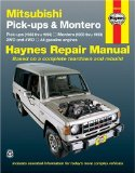 Mitsubishi Pickups and Montero, 1983-1996 (Haynes Manuals)