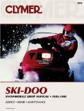 Ski-Doo Snowmobile Shop Manual: 1985-1989 (S829)