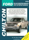 Ford Pick-ups, Expedition, and Navigator, 1997-00 (Chilton s Total Car Care Repair Manual)