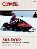 Clymer Ski-Doo Snowmobile Shop Manual 1990-1995 (Clymer Snowmobiles)
