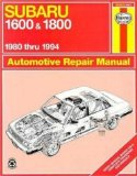 Haynes Subaru 1600 and 1800 (1980-) Shop Manual