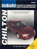 Subaru Legacy and Forester: 2000 through 2006 (Chilton s Total Car Care Repair Manuals)