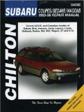 Subaru: Coupes Sedans Wagons 1985-96 (Chilton s Total Car Care Repair Manual)