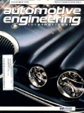 Automotive Engineering International November 1998 Jaguar S-type Cover, Truck Engineering Issue, Nissan Presage, Toyota Vista, Cadillac Evoq Concept Car, Renault s Vel Satis Concept Car, Audi s Concept Car