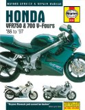 Honda VFR750 and 700 V-Fours 1986 Thru 1997 (Haynes Manuals)