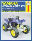 Yamaha YFS200 Blaster ATV 88 98 (Haynes Owners Workshop Manual Series)