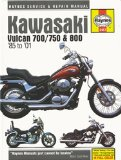 Kawasaki Vulcan 700 750 and 800, 1985 Thru 2001 (Haynes Manuals)