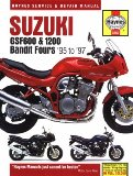 Suzuki Gsf600 and 1200 Bandit Fours Service and Repair Manual: 1995 - 1997 (Haynes Service and Repair Manual Series)