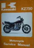 Kawasaki KZ750 Motorcycle Service Manual