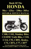 HONDA MOTORCYCLE MANUAL: ALL MODELS, SINGLES AND TWINS 1960-1966: 50cc, 125cc, 250cc and 305cc.