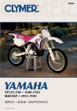 Yamaha Yz125-250, 1988-1993: Wr250Z, 1991-1993 M391 (Clymer Motorcycle Repair)