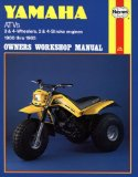 Yamaha ATVs Owners Workshop Manual: 3 and 4-Wheelers, 2 and 4-Stroke Engines 1980-1985