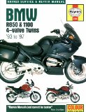 Haynes Maintenance and Repair Manual for BMW R850 and 1100 4-Valve Twins, 1993-1997