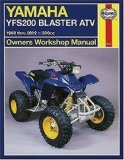 Yamaha YFS200 Blaster ATV: 1988 thru 2002 - 200cc (Owners Workshop Manual)