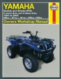 Yamaha Kodiak and Grizzly ATVs: 2-wheel drive and 4-wheel drive 1993 to 2005 (Owners Workshop Manual)