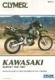 Kawasaki KLR650, 1987-2007 (Clymer Color Wiring Diagrams)