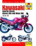 Kawasaki: 454LTD LTD450, Vulcan 500 and Ninja 250 - 85 to 07 (Automotive Repair Manual)