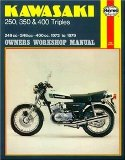 Kawasaki 250, 350 and 400 Triples Owners Workshop Manual: 72- 79
