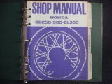 Honda CB250 CB350 CL360 CB CL 250 360 Original Factory Shop Manual