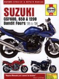Suzuki: GSF600, 650 and 1200 Bandit Fours 95 to 06 (Haynes Service and Repair Manual)