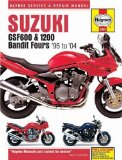 Suzuki GSF600 and 1200 Bandit Fours Service and Repair Manual 95 to 04 (Haynes Manuals)
