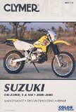 Clymer Suzuki DR-Z400E, S and SM 2000-2008 (Clymer Motorcycle Repair)