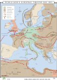 WWII Europe Theatre (World History Wall Maps)