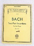 Schirmer s Library of Musical Classics Bach Two Part Inventions for the Piano Vol. 379