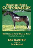 Miniature Horse Conformation: What to Look For and What to Avoid; with Photo Disk