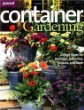 Container Gardening (Sunset Series)
