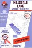Hillsdale Lake Fishing Map (Kansas Fishing Series, M385)
