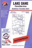 Lake Oahe Fishing Map: Pierre Dam Area (South Dakota Fishing Series, M209)