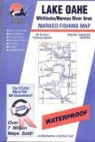 Lake Oahe Fishing Map: Whitlocks Moreau River Area (South Dakota Fishing Series, M209)