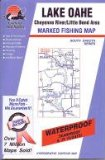 Lake Oahe Fishing Map: Cheyenne River Little Bend Area (South Dakota Fishing Series, M210)