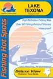 Lake Texoma Fishing Map (Oklahoma Fishing Map Series, A353)